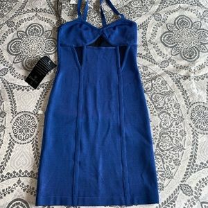 NWT Bebe Blue Dress